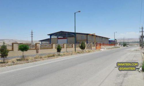 2270متر کارخانه در تبریز