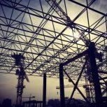 سازه فضایی و اسکلت فولادی