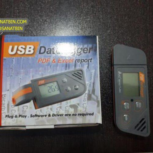 دیتالاگر USB دما و رطوبت ارزان مدل AZ-88162