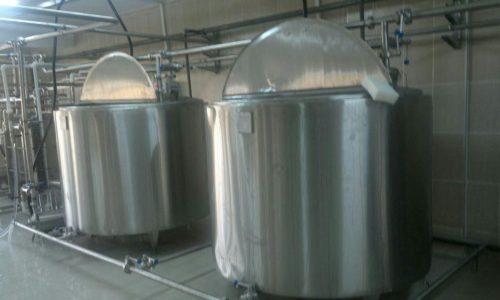 دستگاه پخت شیر دوجداره