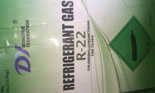 فروش گاز R22 مورد استفاده در چیلر تراکمی و کولرگازی