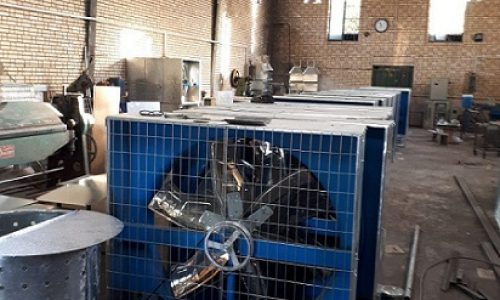 تولید و فروش فن گلخانه ای