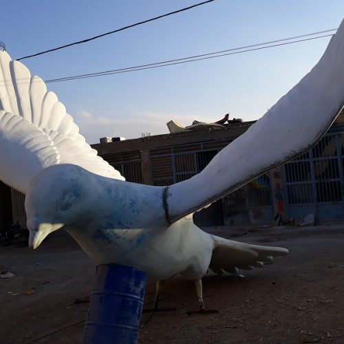 مجسمه های شهری فایبرگلاس زرین کار صفاهان