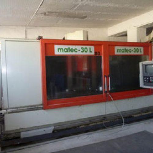 فرز CNCچهار محور matec30L مدل 1995