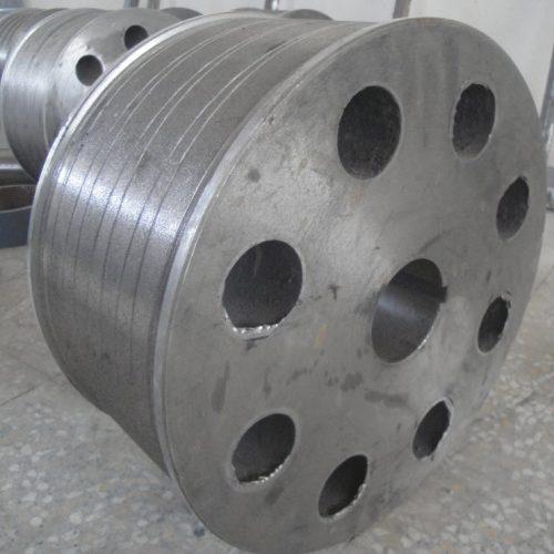 ساخت چرخهای صنعتی و روکش آنها با لاستیک