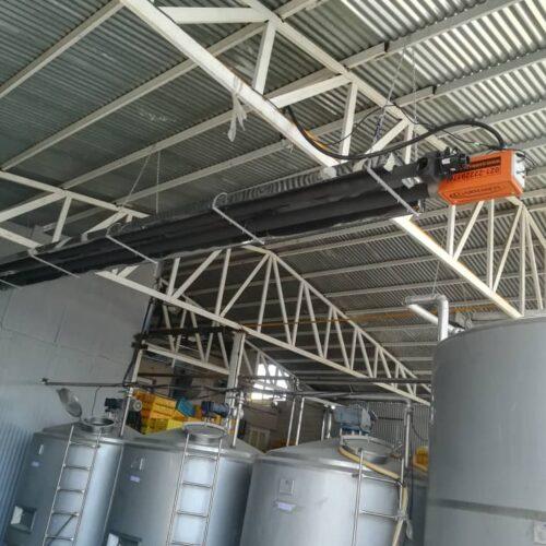 قیمت گرمایش تابشی صنعتی گرماتاب