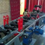 خط تست هیدرواستاتیک مخازن فولادی