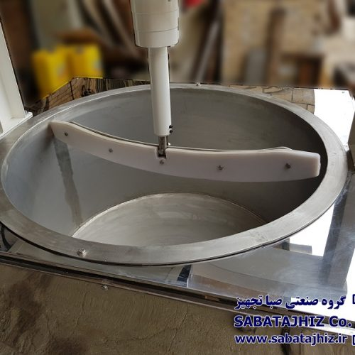 دستگاه داغ زن دور متغیر ظرفیت بالا  ( گیربکسی)
