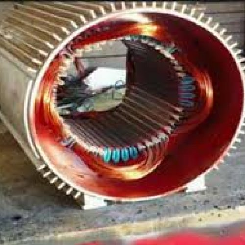 سیم پیچی انواع الکترو موتور های ac  تکفاز و سه فاز