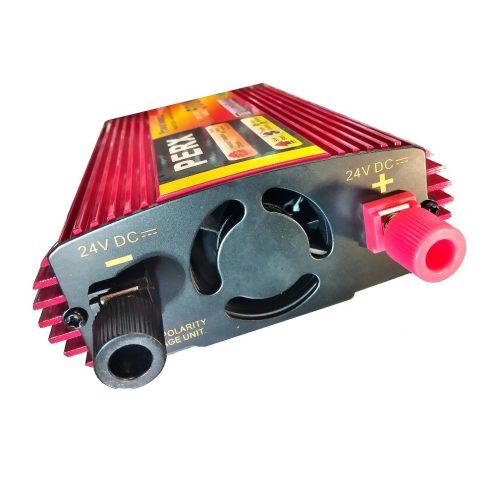 مبدل برق خودرو اینورتر ماشین برق 220 ولت خودرو