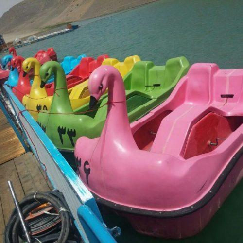 قایق پدالی قو