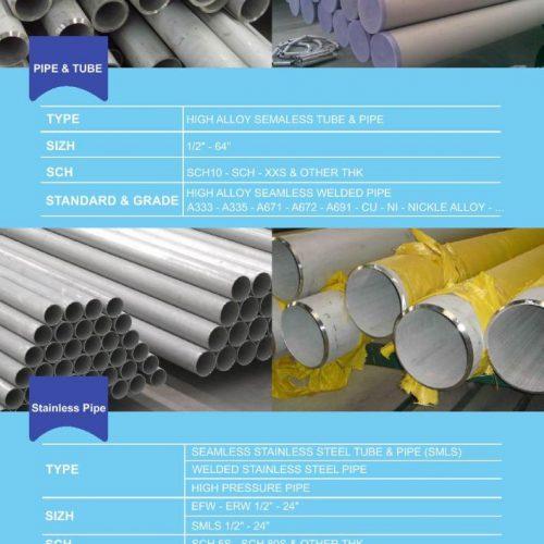 تأمین کننده لوله اتصلات و شیرآلات صنعتی