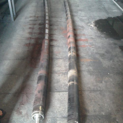 ساخت و روکش غلطکهای صنعتی با لاستیک