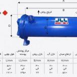 مبدل حرارتی آب و روغن بایار صنعت تبریز