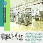 ماشین آلات و تجهیزات صنایع غذایی، لبنی، دارویی