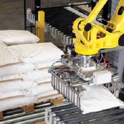 ربات پالتایز برای جابجایی محصولات کارخانه