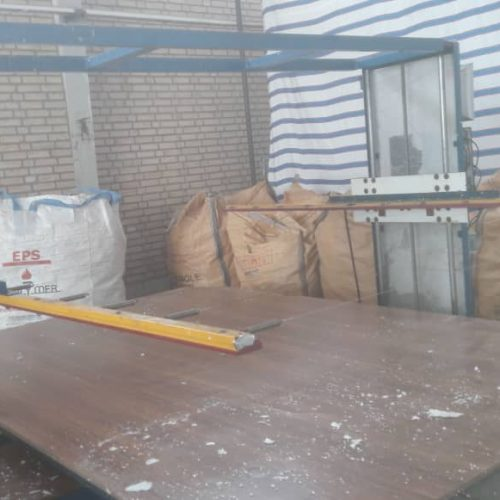 فروش خط تولید فوم سقفی(به صورت تکی یا یکجا)