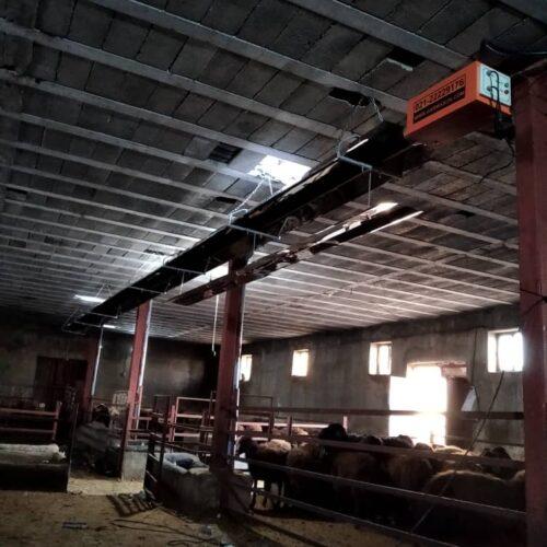 بخاری تابشی سقفی صنعتی گرماتاب