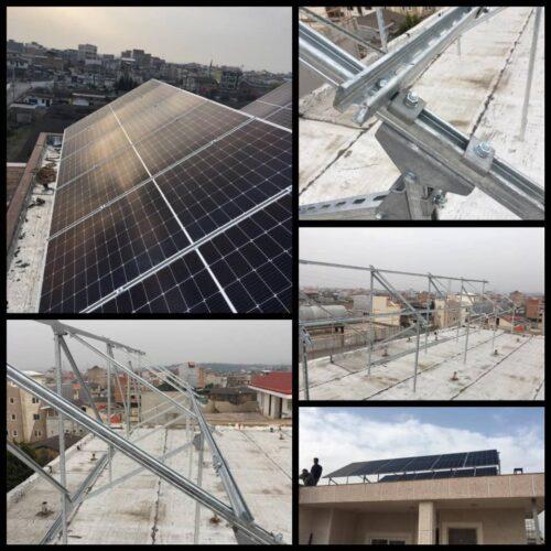تولید و تامین انواع سازه های خورشیدی