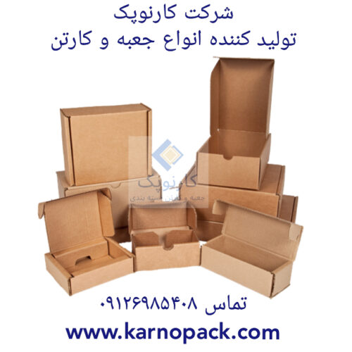 تولید و فروش کارتن بسته بندی کارنوپک