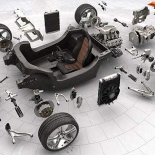 حک لیزری قطعات خودرو