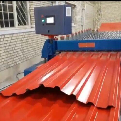 ساخت دستگاه تولید ورق ذوزنقه-پارس رول فرم-09121612740