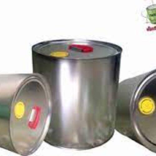 تولید قوطی و حلب های تمام تخلیه برای بسته بندی و نگهداری انواع رنگ های شیمیایی