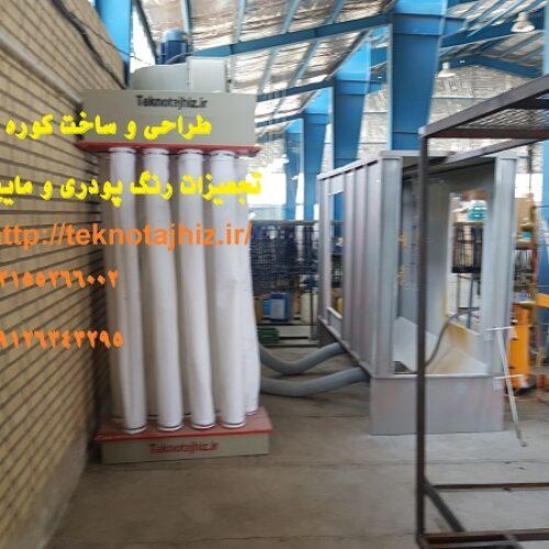 قیمت خط رنگ  پودری الکترواستاتیک