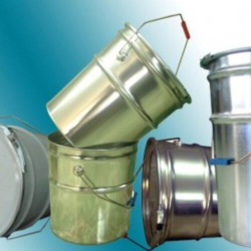تولید قوطی و حلب های تمام تخلیه برای بسته بندی چسب و گیریس