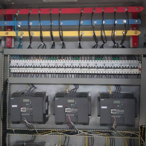 طراحی ، مشاوره و اجرای پروژه های اتوماسیون صنعتی و تابلو برق